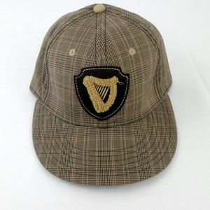 Guinness Plaid Fitted Baseball Cap hb